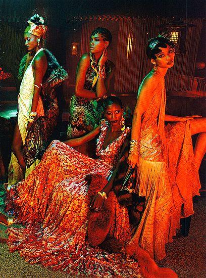 Vogue Italia  2011(1920s Harlem Renaissance)