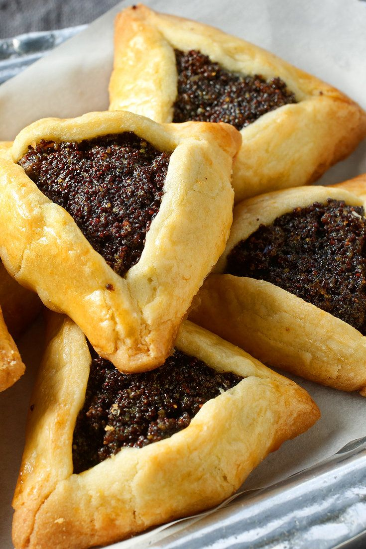 Purim, which celebrates the biblical story of the Jews' deliverance from a plot to kill them by Haman, minister to the Persian king, is a special time when people drink, dance and play jokes Gifts of food called shalah manot are distributed, which include fruit, cookies and, of course, hamantaschen.