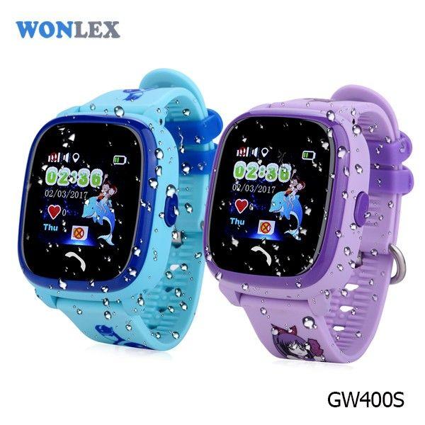 "Poze Smartwatch copii cu GPS Wonlex GW400s, ecran touchscreen 1.22"" color, functie telefon, rezistent la apa, buton SOS, variante culori"