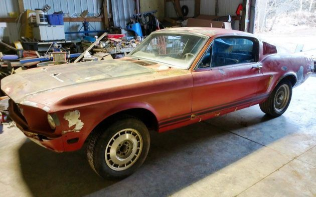 Wisconsin Barn Find! 1968 Mustang Fastback Roller | Barn