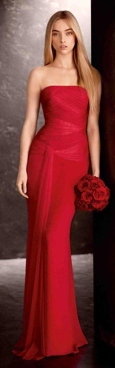 Vera Wang bridal - red - 2013