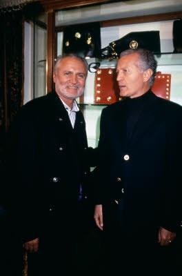 Gianni and his brother Santo Versace