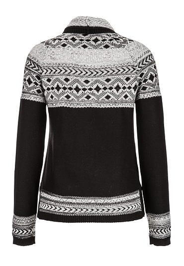 patterned funnel neck sweater - maurices.com