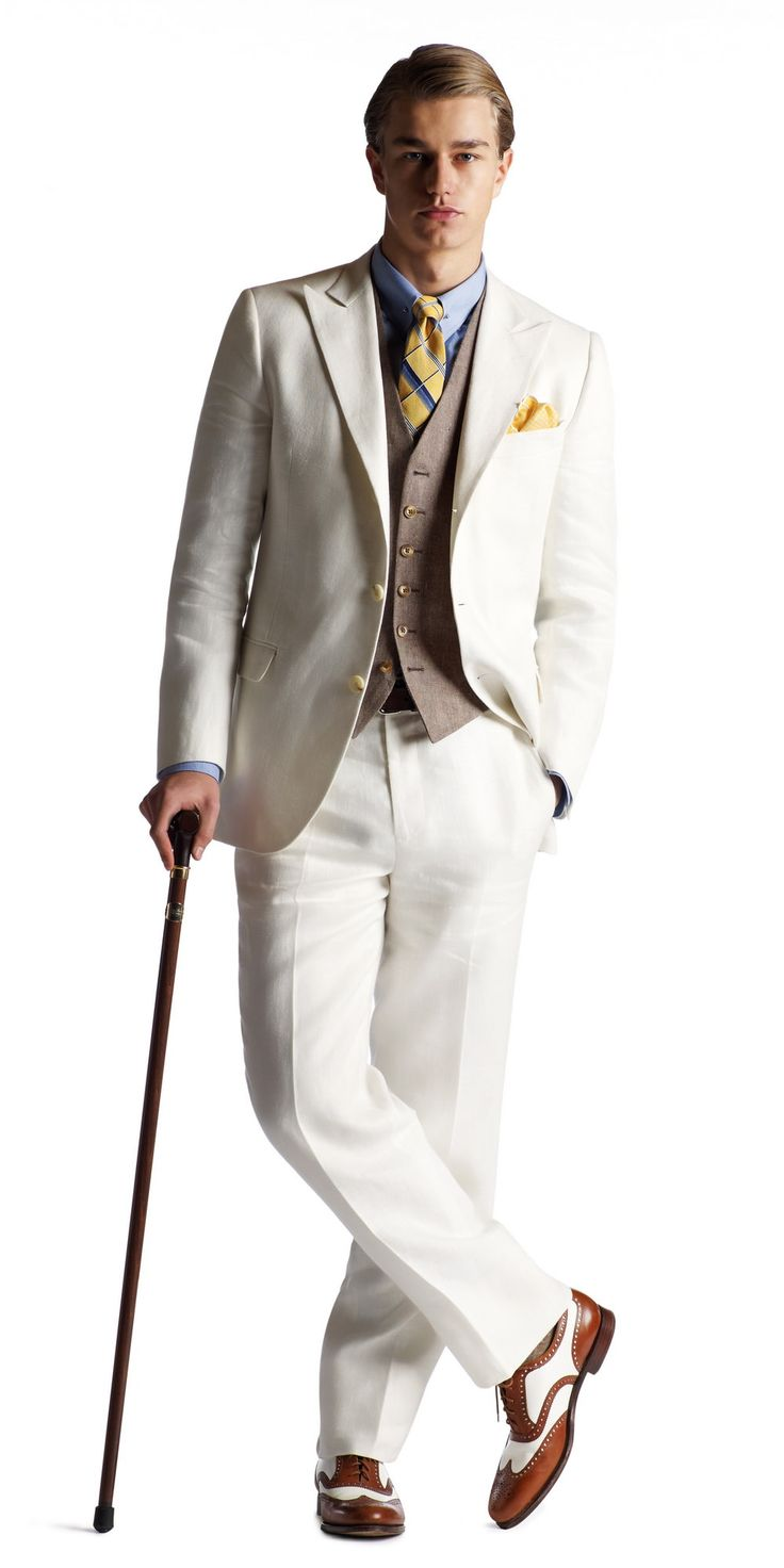 Great Gatsby Men's Fashion & Brooks Brothers Clothing — Gentleman's Gazette