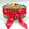 Tarta KitKat, M´s y Lacasitos