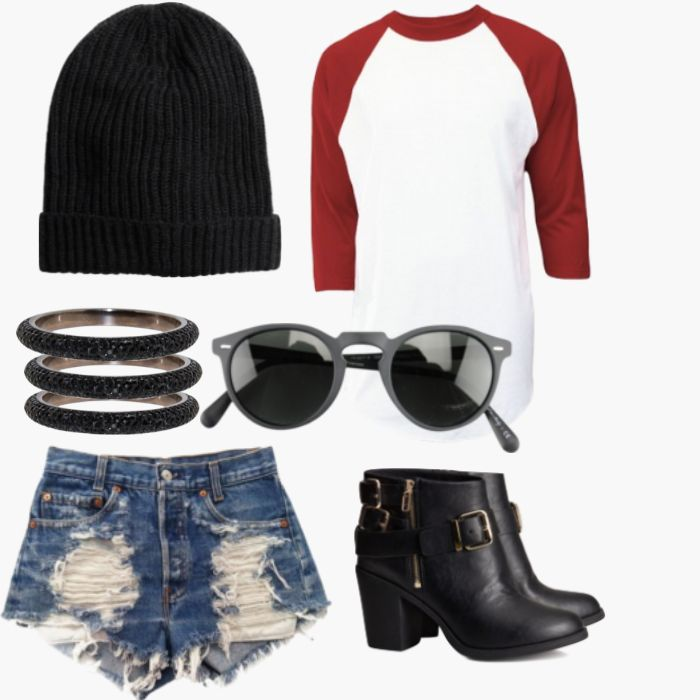 Tom boy chic looks great on anyone especially in this outfit ...