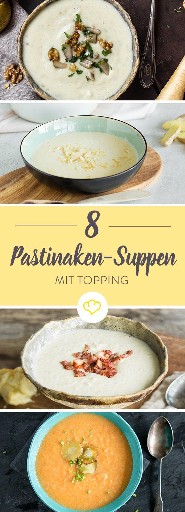 Genug von Klassikern wie Tomaten-, Kürbis-, oder Kartoffelsuppe? Dann wird es höchste Zeit, dass du die feinwürzige Pastinake in deinen Suppentopf packst.