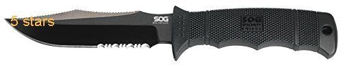 SOG Specialty Knives E37TN CP Part Serrated