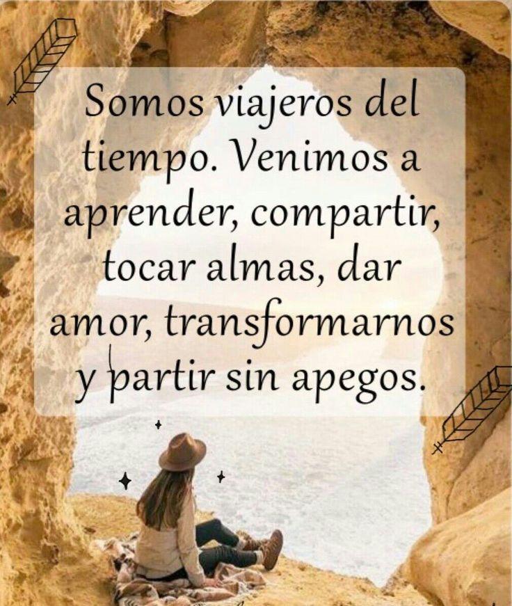 Somos viajeros del tiempo y aventureros de la #vida ♥-Sin Sentidos-