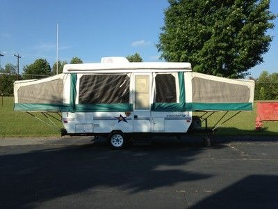 Casita Travel Trailer For Sale >> 1997 Starcraft Spacemaster 1224 PopUp Tent Travel Trailer Camper w AC 12' Slide | Starcraft ...