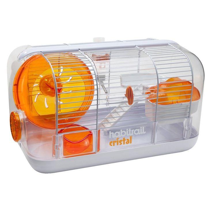 Amazon.com: Hagen Habitrail Cristal Hamster Habitat: Pet Supplies