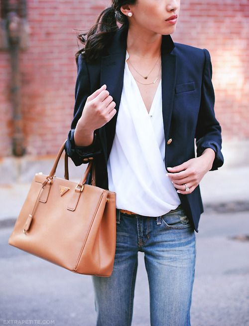 Investment Bags: Prada Saffiano Leather Tote http://rstyle.me/n ...