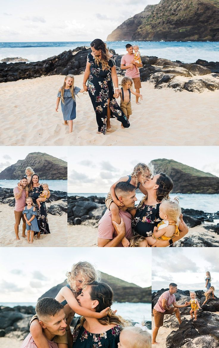 Best Beach Photography : Oahu Vacation Beach Family Photo Session. Click to see more images from this ses… – Jane Juan