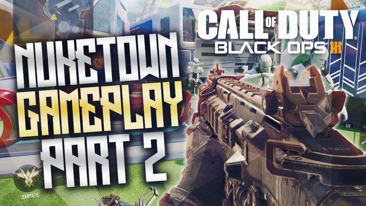 Call of duty Black ops 3 Nuketown TDM Gameplay Part #2 - Best Cod Bo3 Ep...