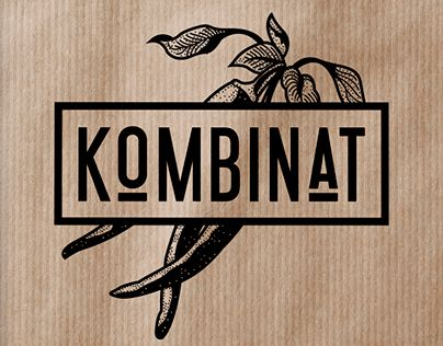 KOMBINAT CAFE & RESTAURANT LOGO DESIGN                                                                                                                                                      More