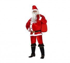 Disfraz de Papa Noel para hombre talla M-L