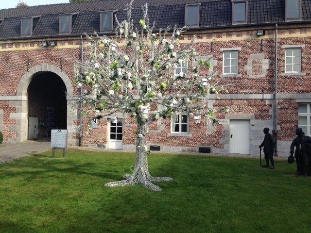 Flower tree at Fleuramour 2014