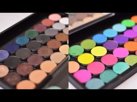 HOW TO DEPOT SLEEK EYESHADOWS - YouTube