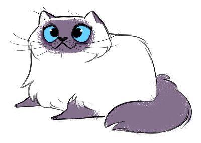 Иллюстрации кошек DAILY CAT DRAWINGS (73 картинки)