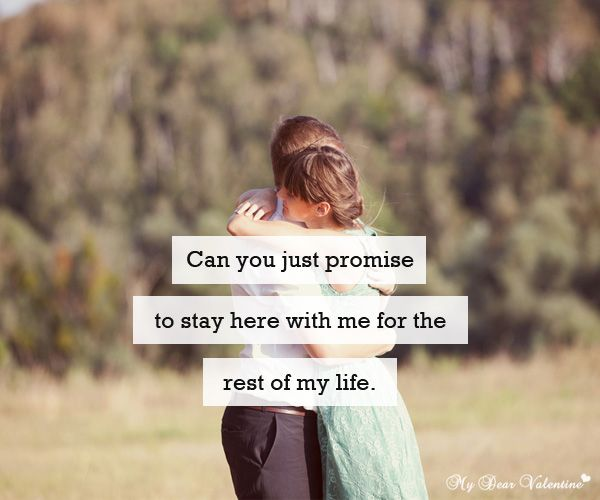 Promising Love Quotes: 25+ Best Love Promise Quotes On Pinterest