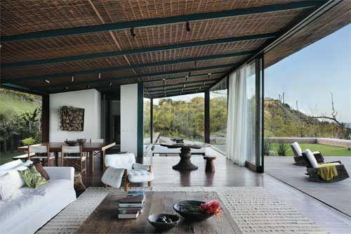 Galeria de 80 telhados e coberturas - a personalidade da casa - Casa Forro esteira de bambu?