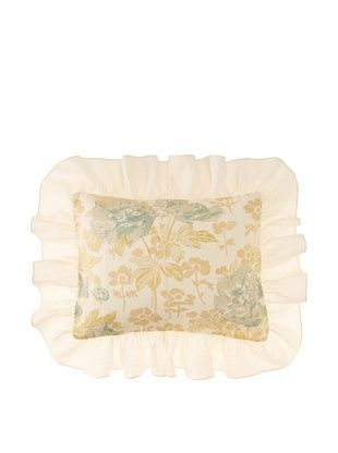 Pom Pom at Home Sofia Boudoir Sham, Blue, Queen