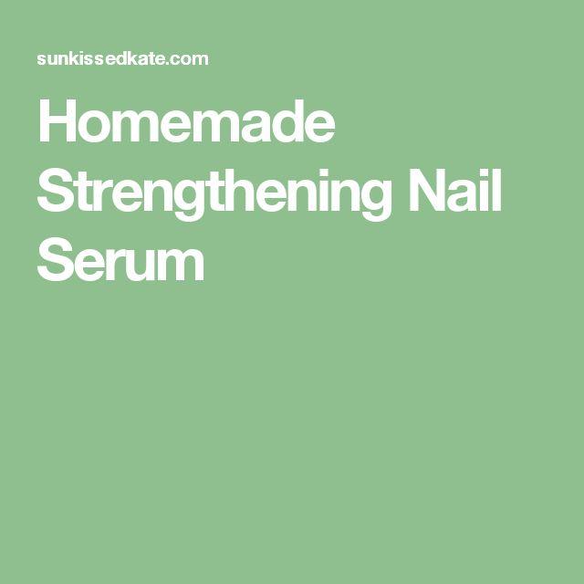 Homemade Strengthening Nail Serum