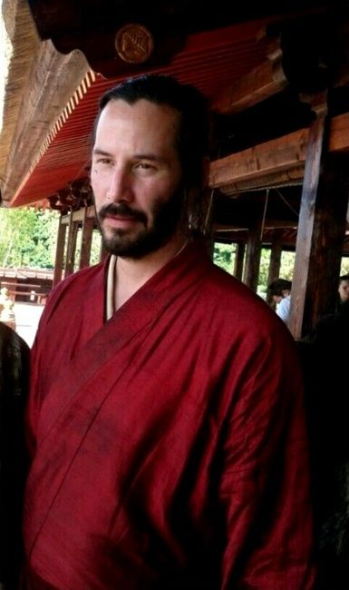 WHY DO WE LOVE KEANU? Because he got the wrap right--left side over right side--knowledge over power. (chicfoo) keanu