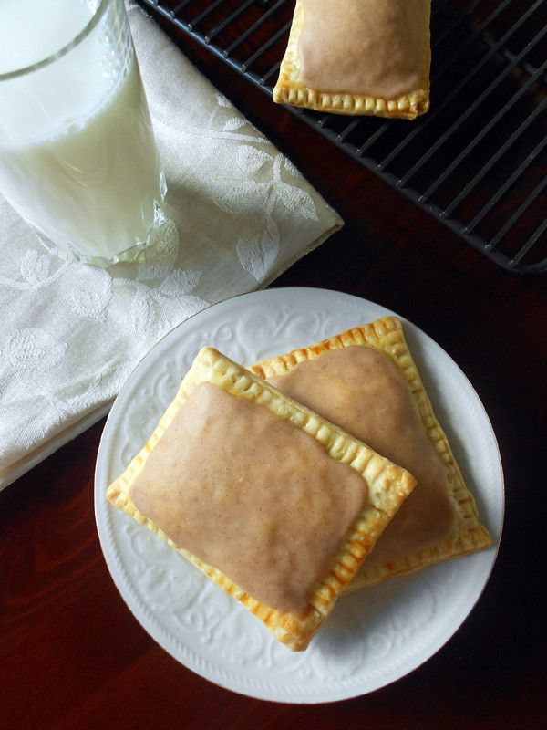 Cinnamon Brown Sugar Pop-Tarts    Instead of buying actual Pop-tarts haha - may actually attempt these one day! @candy Cane The Cook Kitchen Shop