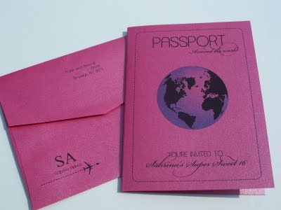 Another passport invitation