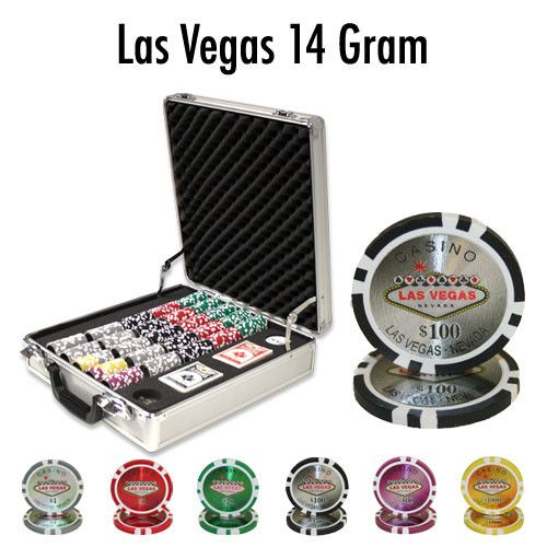 Brybelly PCS-0703L 500 Ct - Pre-Packaged - Las Vegas 14 G - Claysmith