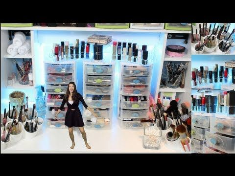 My Makeup Collection & Storage - YouTube