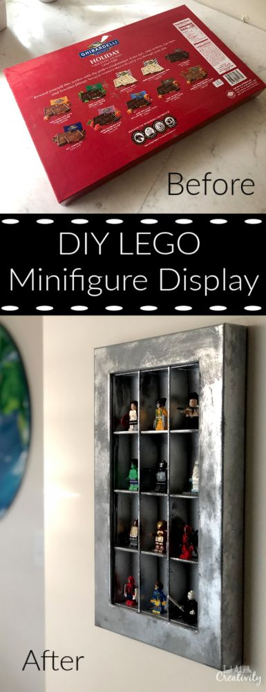 Everything is Awesome! DIY LEGO Minifigure Display