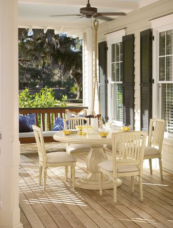 Paula Deen River House Round Pedestal Dining Table Set | Paula Deen Home |  Home Gallery