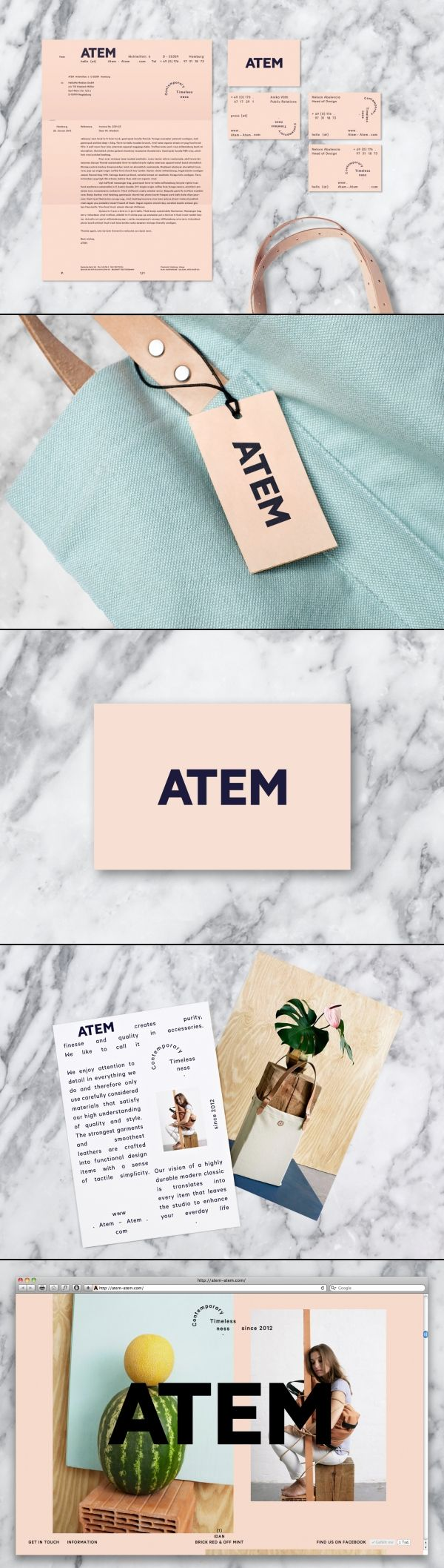 ATEM was formed in 2011 in Hamburg, Germany. The brands name translates into…