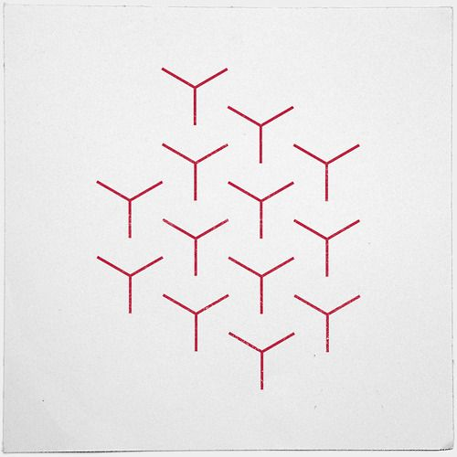#248 Rods – A new minimal geometric composition each day