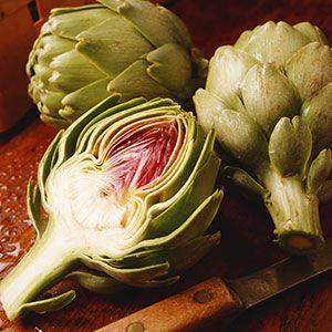 Low Carb Microwave Artichokes With Roasted Garlic Dipping Sauce from @WebMD