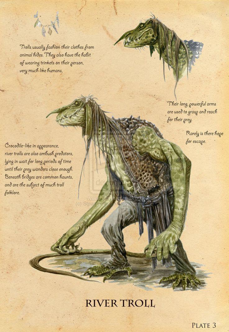 River Troll by eoghankerrigan