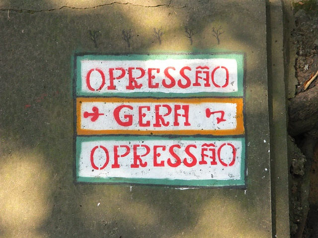 Opressão é o efeito negativo experimentado por pessoas que são alvo do exercício cruel do poder numa sociedade ou grupo social