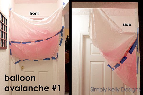 Make a balloon avalanche for a birthday morning surprise. Simply tape a trash bag to the ceiling and door, slide in small blown up balloons, and wait for the birthday girl or boy to open the door!