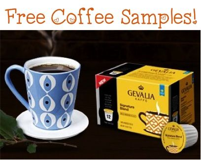 FREE Gevalia Coffee K-Cups or Ground Samples!!  #coffee