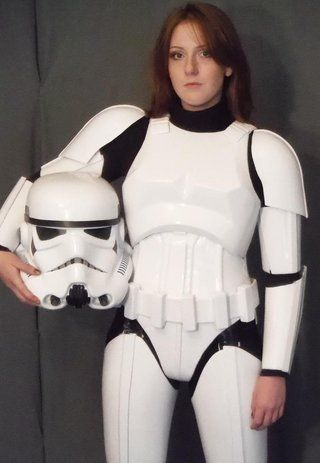 Second generation stormtrooper armor for women