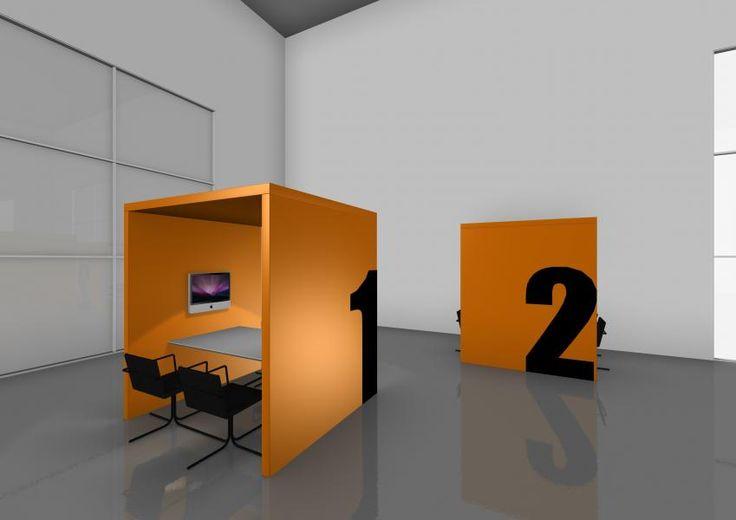 Lav små rum med rumdelere i et allerede eksisterende rum, og få det meste ud af lidt plads.