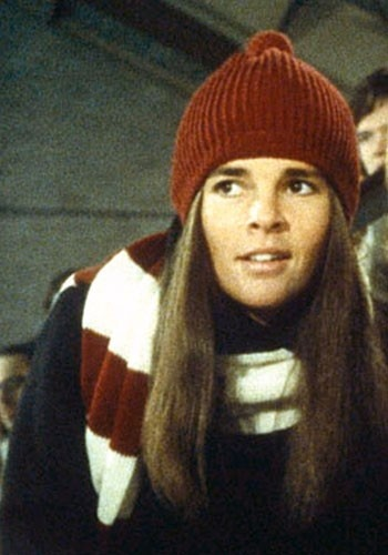 Preppy Ali MacGraw in Love Story -- one of my favorite movies of all time!!