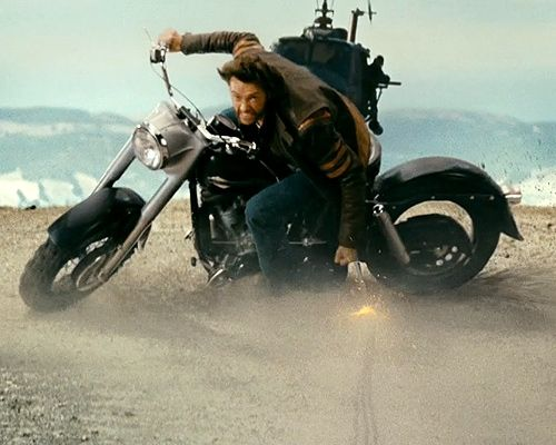 Black Men On Motorcycles | wolverine s motorcycle film wolverine origins 2009 x men 2000