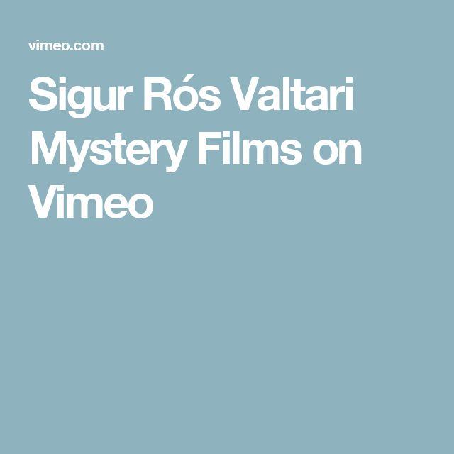 Sigur Rós Valtari Mystery Films on Vimeo