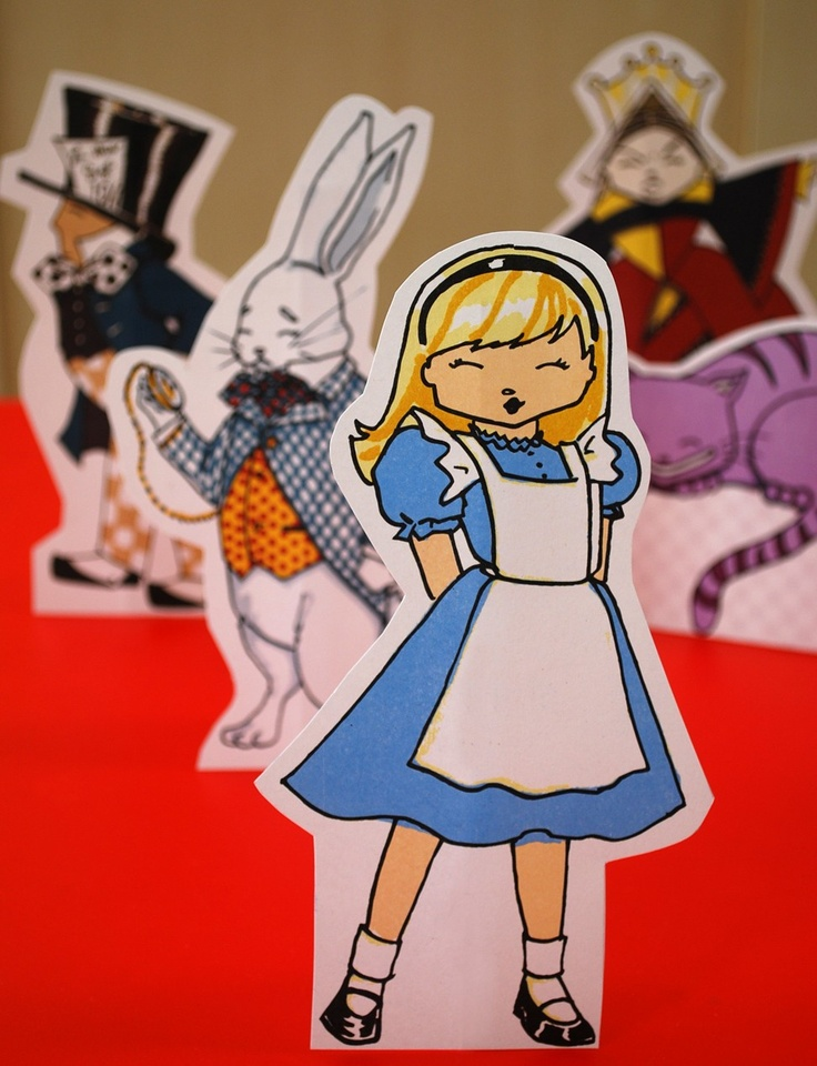Alice in Wonderland printable