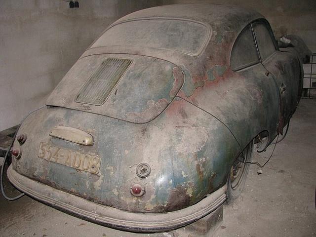 Abandoned Vehicles Cars Porsche 356a 356 Speedster Find Barn Finds Barns Lost