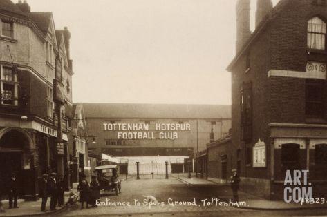 Entrance to Tottenham Hotspur Football Ground, C. 1906 Photographic Print