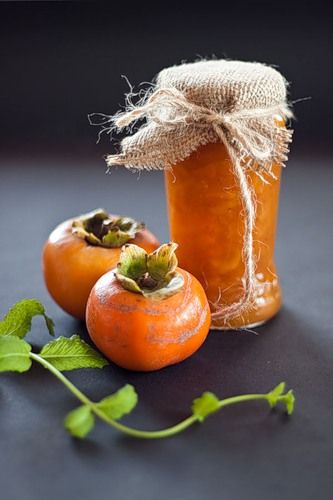persimmon and orange jam